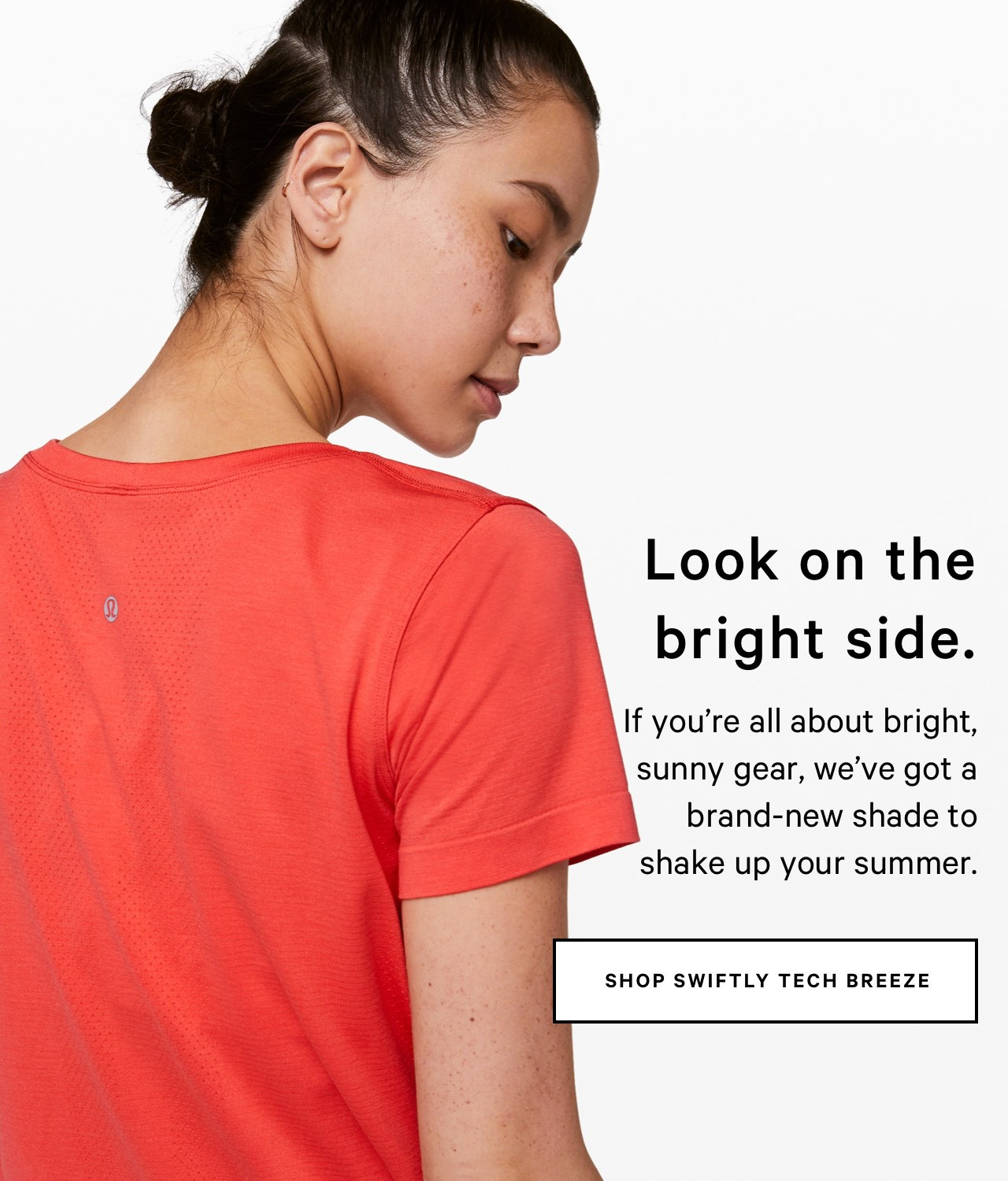 Look on the bright side. - SHOP SWIFTLY TECH BREEZE