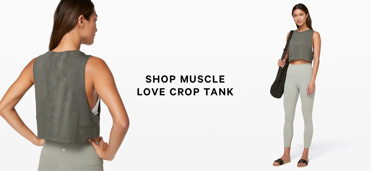 SHOP MUSCLE LOVE CROP TANK