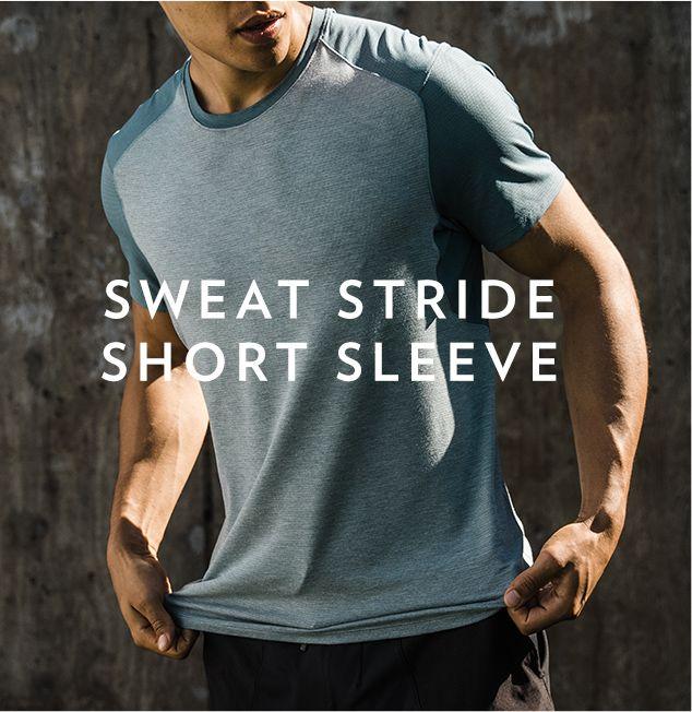 SWEAT STRIDE SHORT SLEEVE